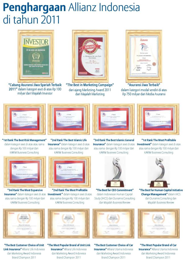 penghargaan allianz 2011