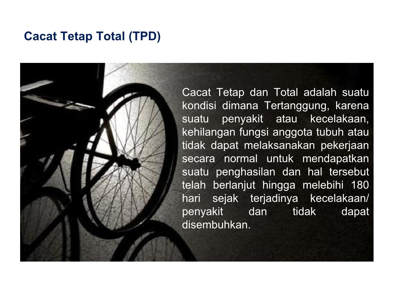 cacat tetap total
