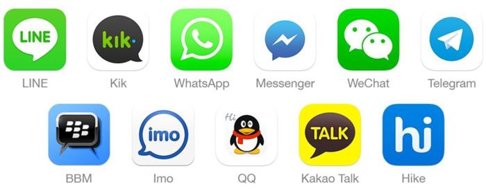 aplikasi mobile chat