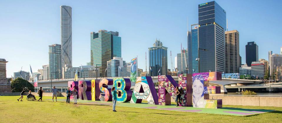 Jalan-jalan ke Brisbane
