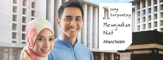 Allianz Tasbih niat ibadah haji