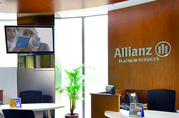 allianz platinum counter