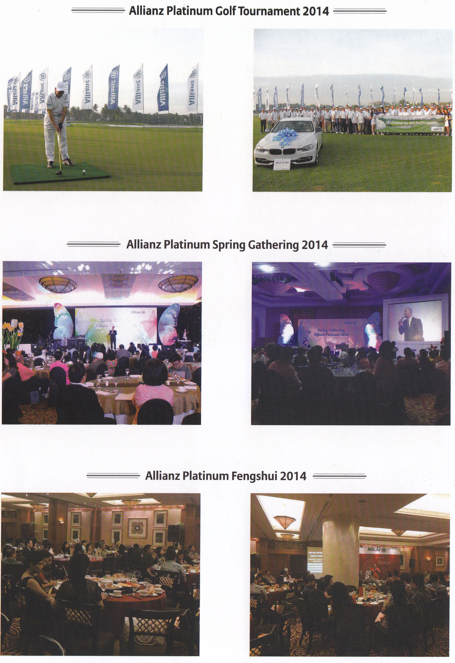 allianz platinum event