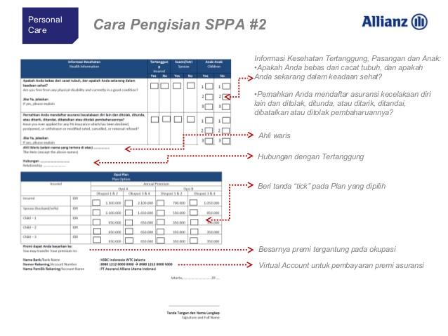 cara mengisi sppa 2