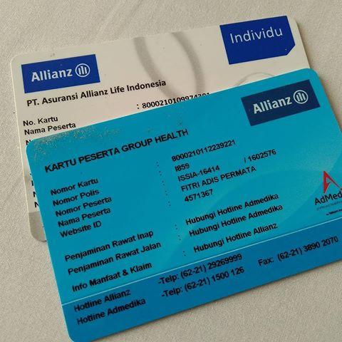 kartu rumah sakit asuransi allianz