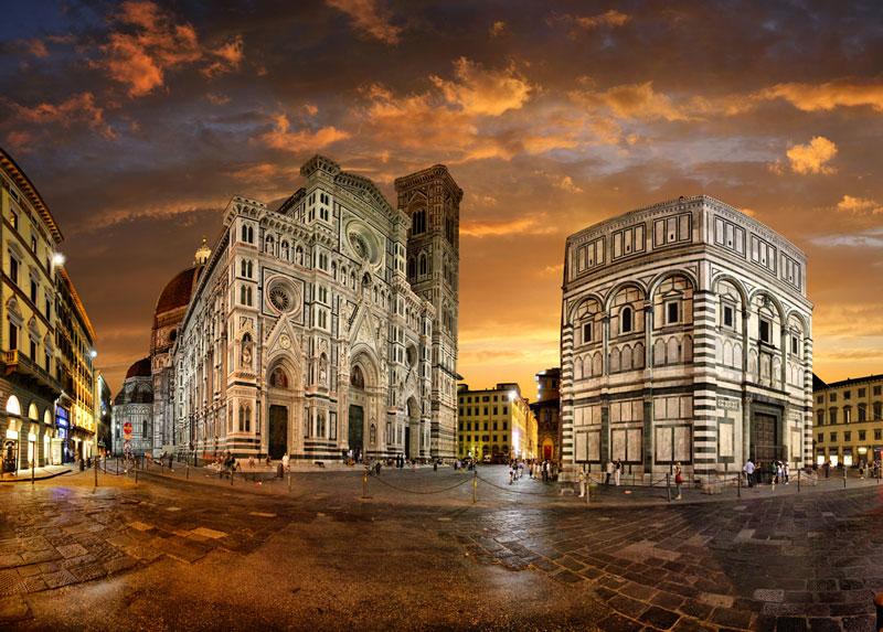 Mengunjungi kota Florence