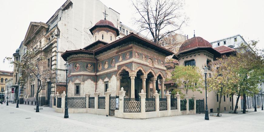 mengunjungi bukares, rumania