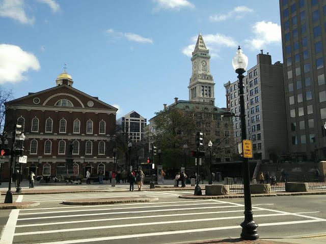 Jalan jalan ke boston