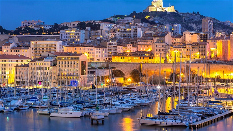 Jalan-jalan ke Marseille