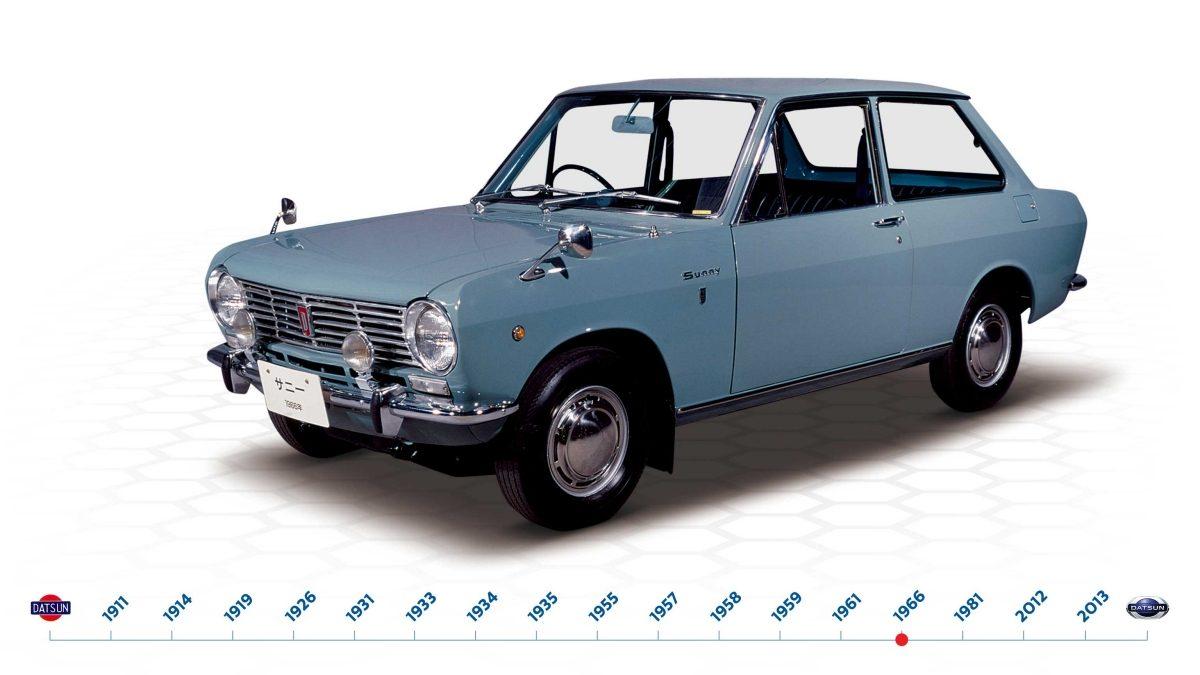 Sejarah mobil Datsun