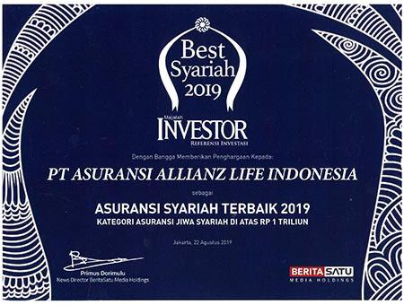penghargaan asuransi syariah terbaik