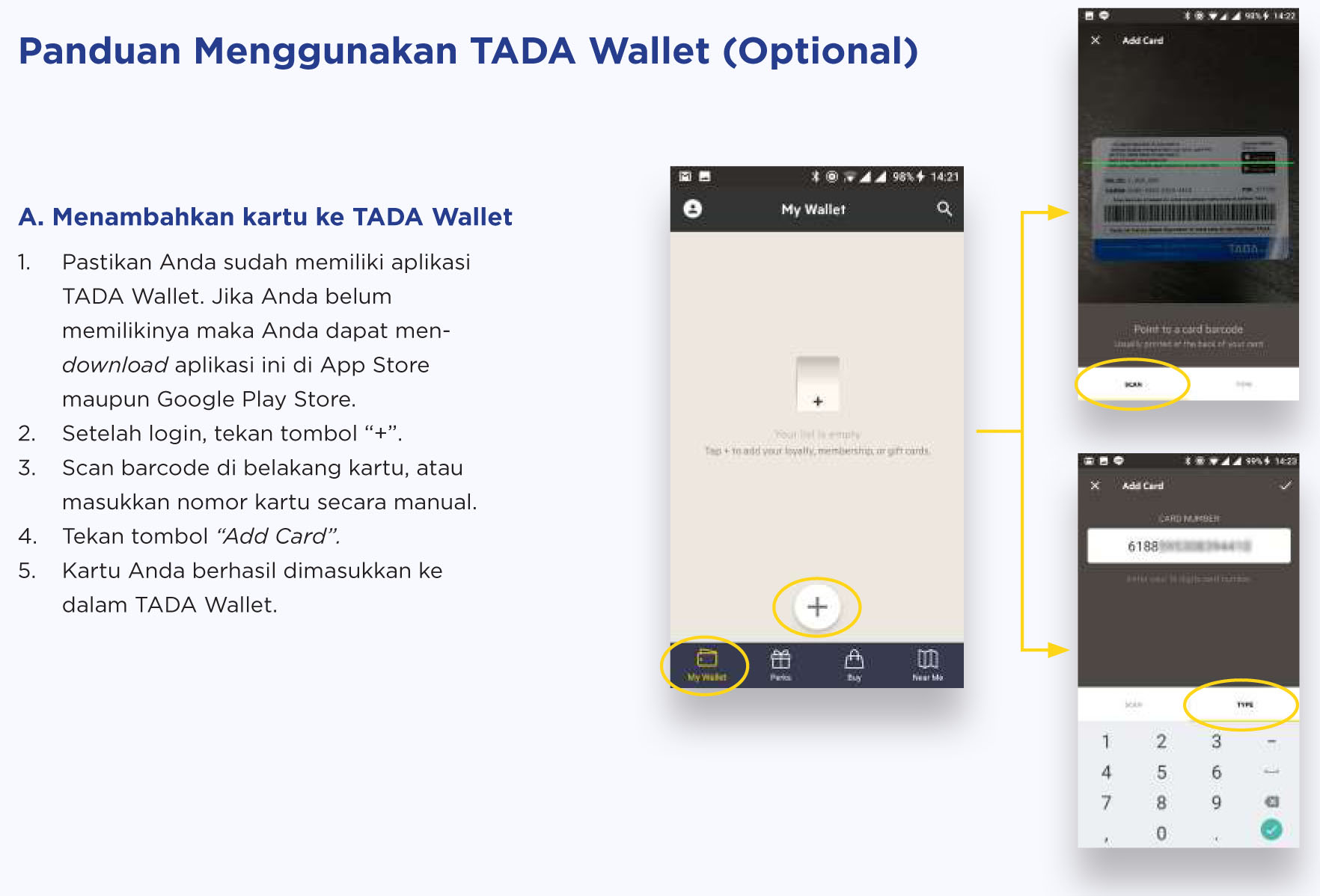 tada wallet allianz platinum