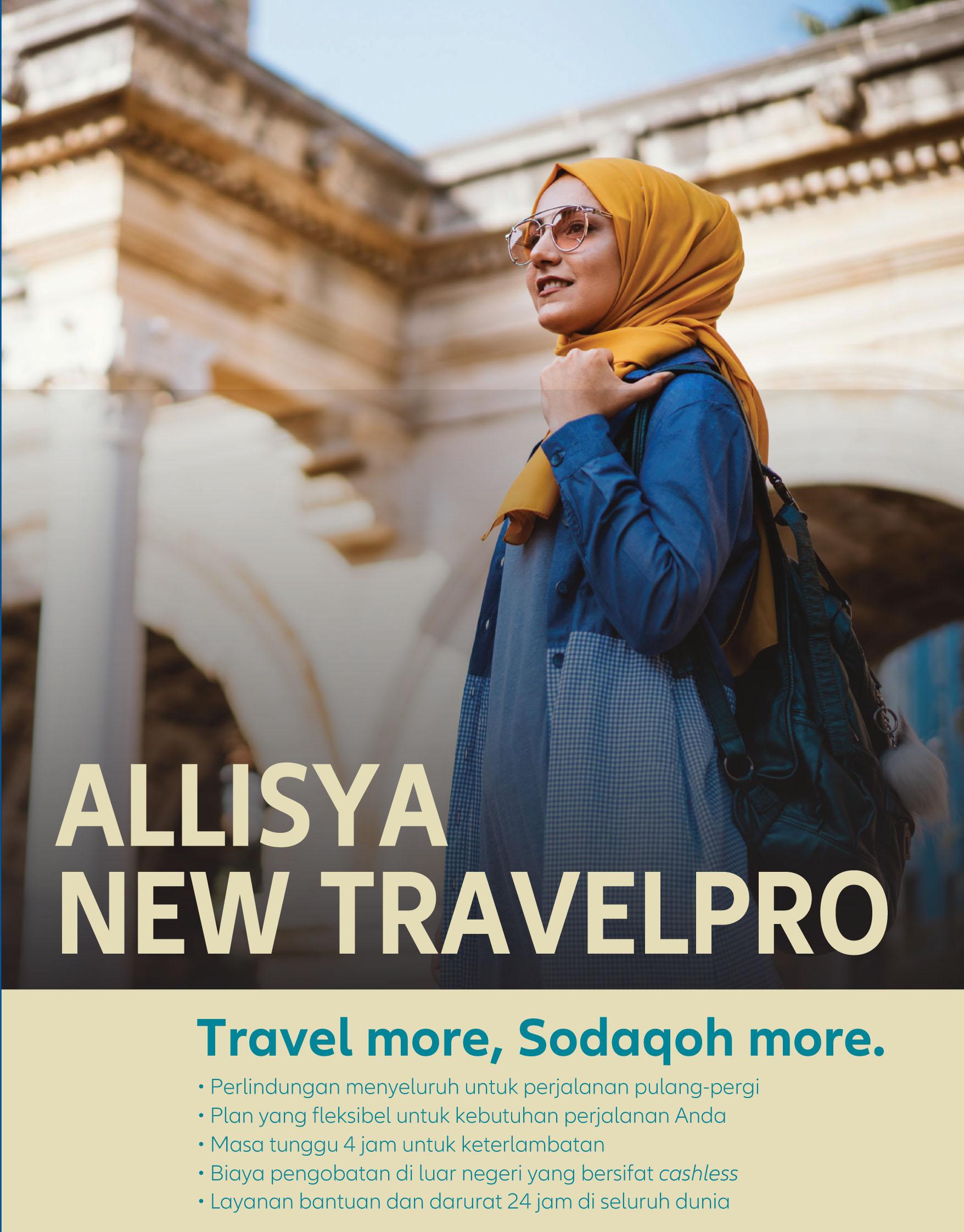 asuransi perjalanan syariah allianz allisya travelpro